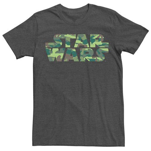 Men's Star Wars Camouflage Logo Tee