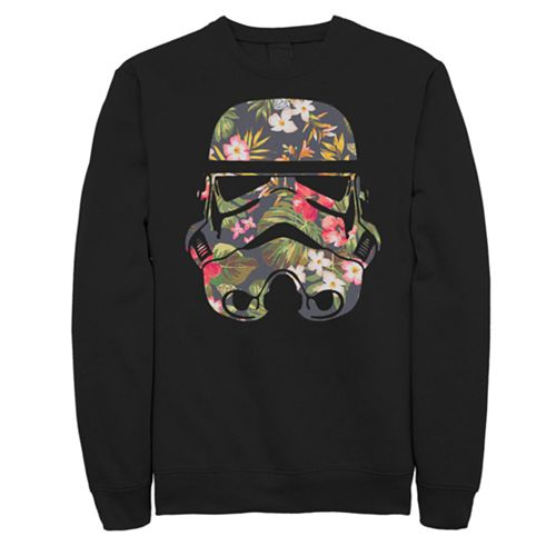 Men's Star Wars Stormtrooper Floral Sweatshirt