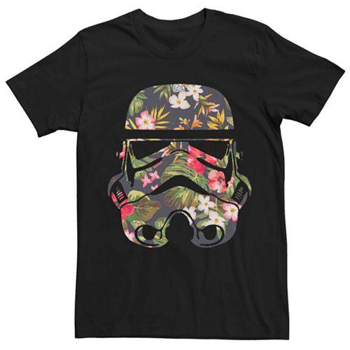 Men's Star Wars Floral Stormtrooper Tee