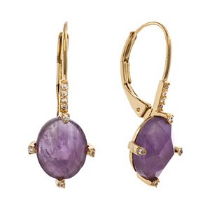 Rhode & Co. Oval Drop Earrings