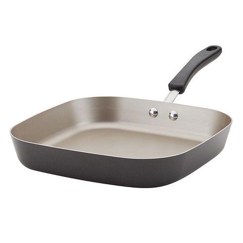 Farberware Cookstart Aluminum DiamondMax Nonstick Square Deep Grill Pan