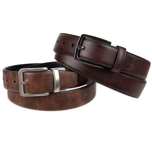 Men's Dockers® Two Belts in a Box
