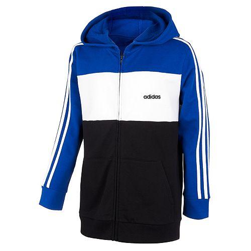 Boys 8-20 adidas Colorblock Hooded Jacket