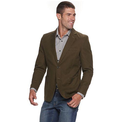 Men's SONOMA Goods for Life™ Stretch Hopsack Washed Sport Coat