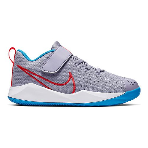 Nike Team Hustle Quick 2 JDI Pre-School Kids' Basketball Shoes