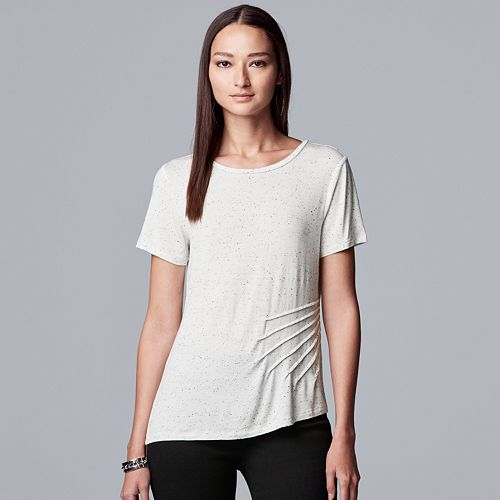 Women's Simply Vera Vera Wang Short Sleeve Tunic