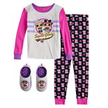 Girls 4-12 LOL Surprise 2-Piece Set with Slippers