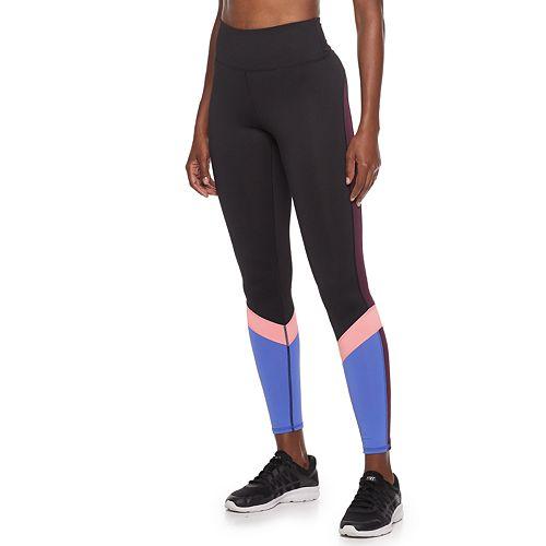 Women's FILA SPORT® High-Waist Multi Color Block Leggings