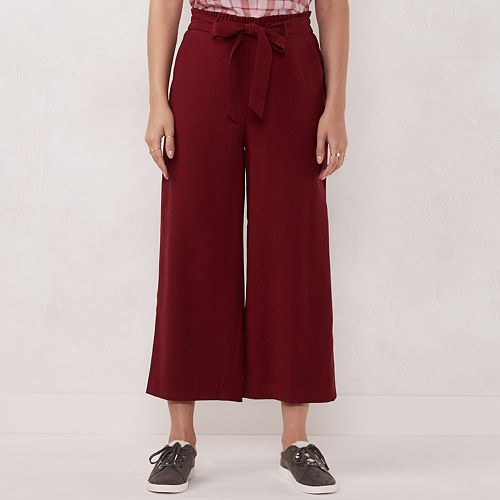 Women's LC Lauren Conrad Wide-Leg Trouser Pants