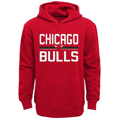 Boys 4-20 Chicago Bulls Fleece Pullover Hoodie