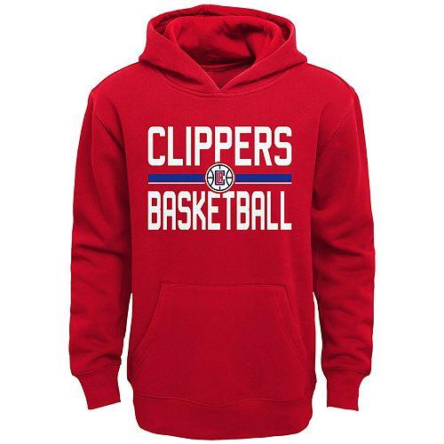 Boy's Los Angles Clippers Promo Fleece Hoodie