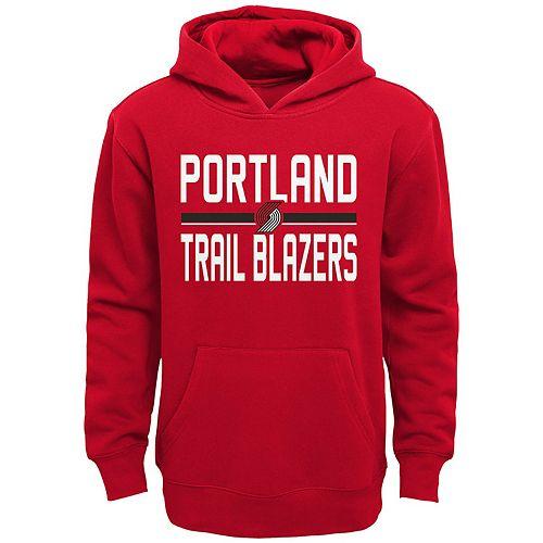 Boys 4-20 Portland Trail Blazers Fleece Pullover Hoodie