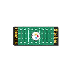 Fanmats® Pittsburgh Steelers Football Field Rug