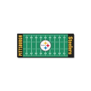Fanmats Pittsburgh Steelers Football Field Rug