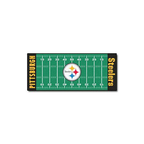 Fanmats® Pittsburgh Steelers Football Field Rug