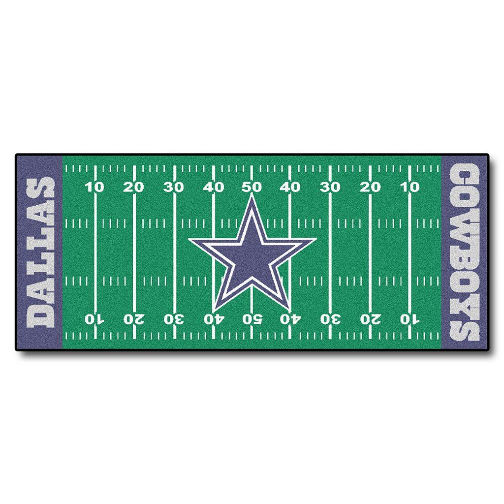 Fanmats® Dallas Cowboys Football Field Rug