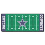 Fanmats Dallas Cowboys Football Field Rug