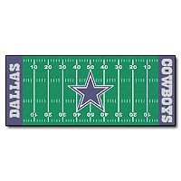 Fanmats® Dallas Cowboys Football Field Rug
