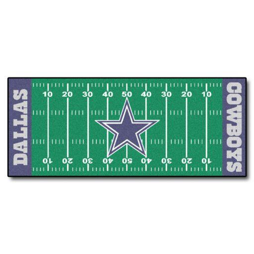 Fanmats Dallas Cowboys Football Field Rug