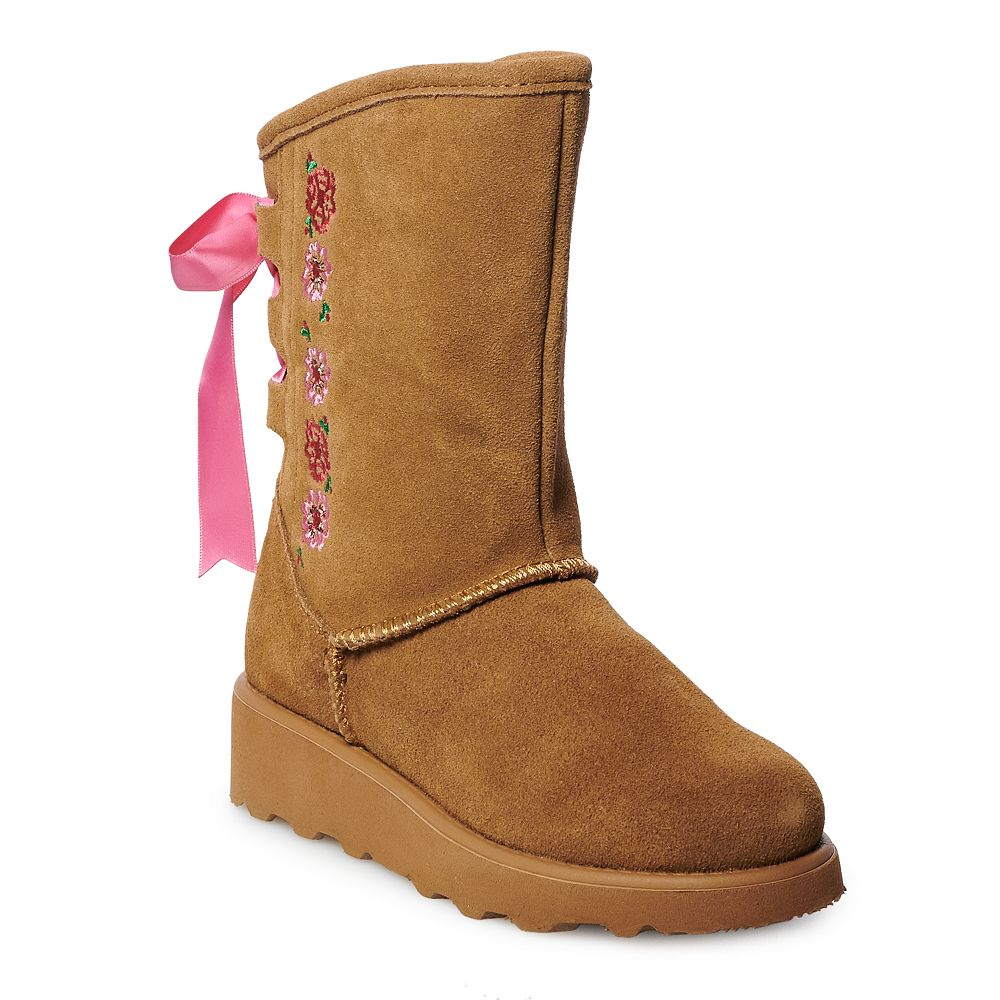 Bearpaw Carly Girls' Water Resistant Winter Boots