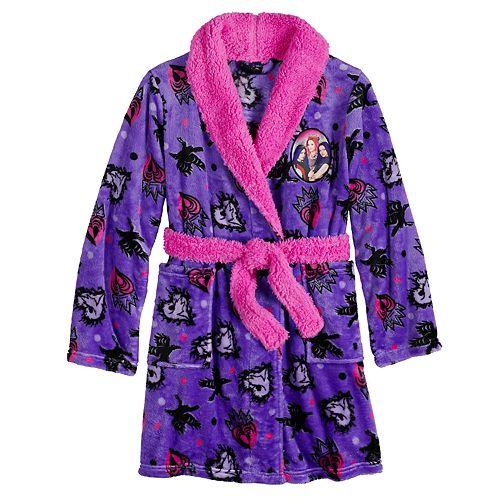 Disney's Descendants Girls 6-12 Plush Robe