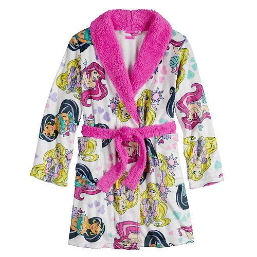 Disney's Princess Girl's 4-8 Plush Robe