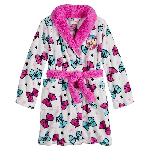 Girl's 6-12 JoJo Siwa Plush Bow Robe