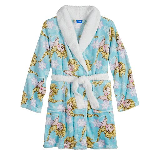 Disney's Frozen Elsa Girls 4-10 Plush Robe