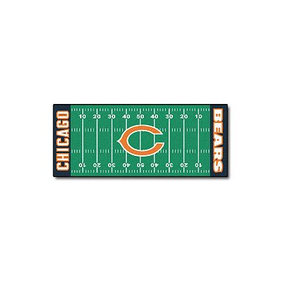 Fanmats Chicago Bears Football Field Rug