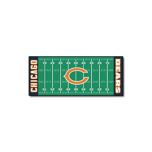 Fanmats® Chicago Bears Football Field Rug