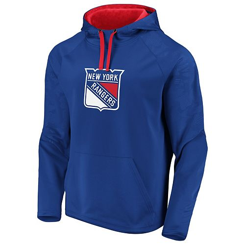 Men's New York Rangers Defender Pullover Hoodie