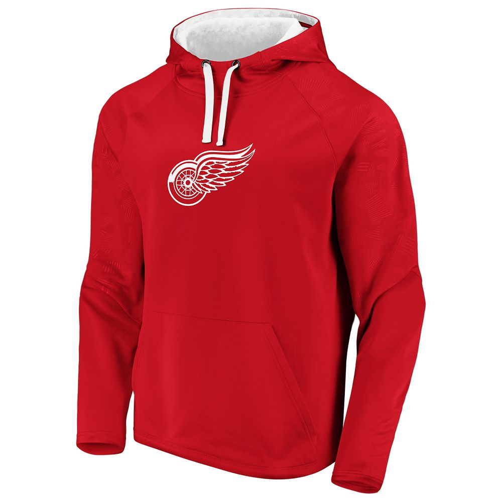 Men's Detroit Red Wings Defender Pullover Hoodie