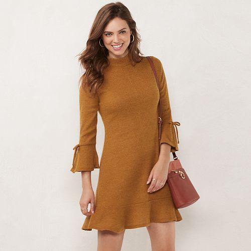 Women's LC Lauren Conrad Mockneck Swing Dress