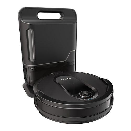 Shark IQ Robot Vacuum R100AE with Self-Empty Base, Wi-Fi Connected & Alexa Compatible (RV1001AE)