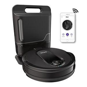 Shark IQ Robot Self-Empty XL R101AE, Robot Vacuum, Home Mapping, Self-Cleaning Brushroll, Wi?Fi (RV1001AE)
