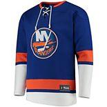 Men's New York Islanders Lace-Up Jersey Tee