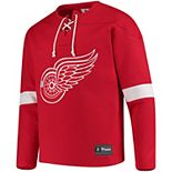 Men's Detroit Red Wings Lace-Up Jersey Tee