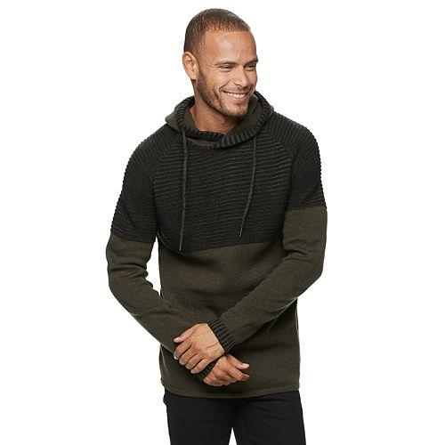 Men's Xray Pull Over Hood Sweater