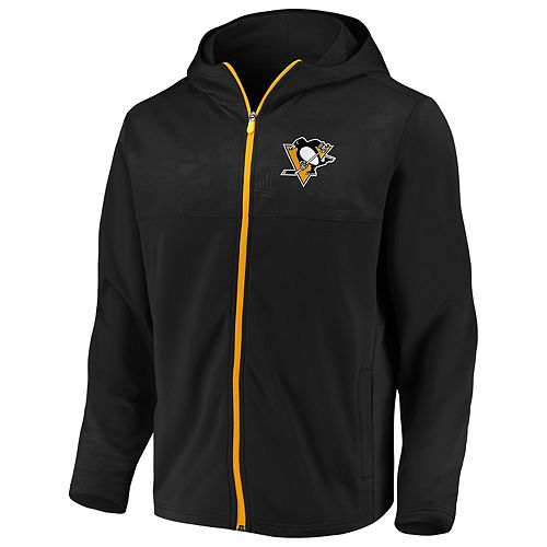 Men's Pittsburgh Penguins Defender Mission Zip-Up Hoodie