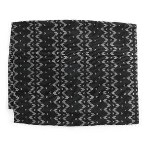 Women's Style Collective Chevron Foil Pleat Loop Scarf