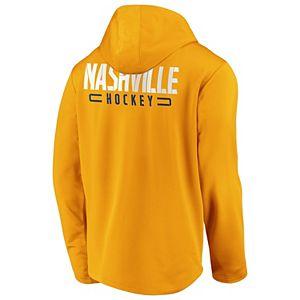 Men's Nashville Predators Defender Mission Zip-Up Hoodie