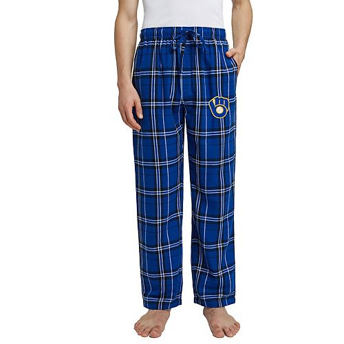 Men's Milwaukee Brewers Hillstone Flannel Pant