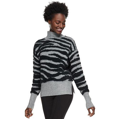 Women's Nine West Zebra Print Sweater