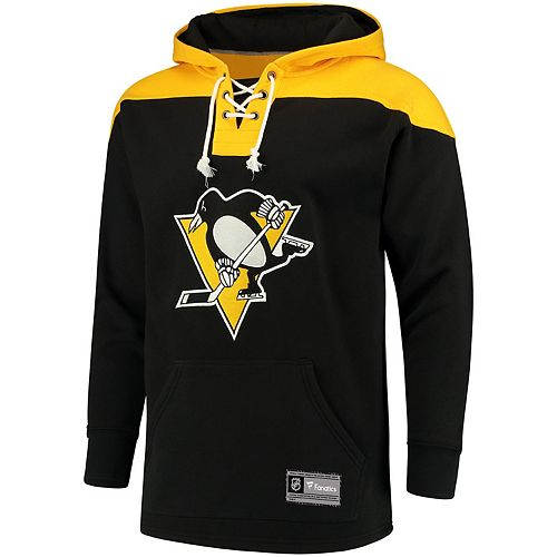 Men's Pittsburgh Penguins Lace Up Hoodie