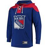 Men's New York Rangers Lace Up Hoodie