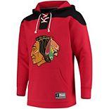 Men's Chicago Blackhawks Lace-Up Hoodie