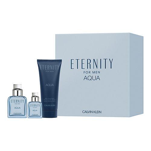 Calvin Klein Eternity Aqua for Men 3-Piece Cologne Gift Set - Eau de Toilette ($99 Value)