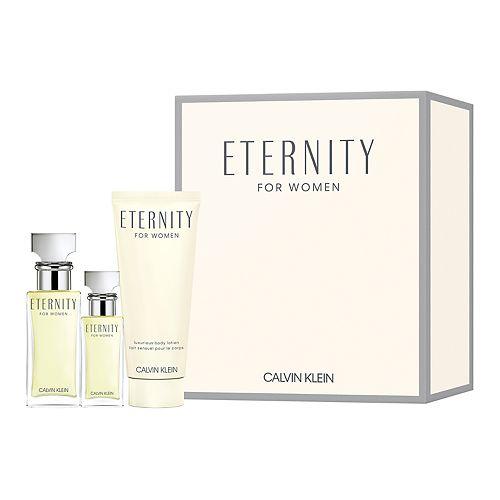 Calvin Klein Eternity Women's Perfume 3-Piece Gift Set - Eau de Parfum ($100 Value)