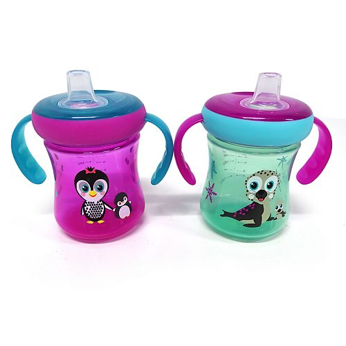 Girls The First Years Soft Spout Trainer Cups 7 Oz - 2 Pack