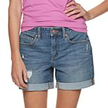 Women's SONOMA Goods for Life® 5-pocket Jean Shorts